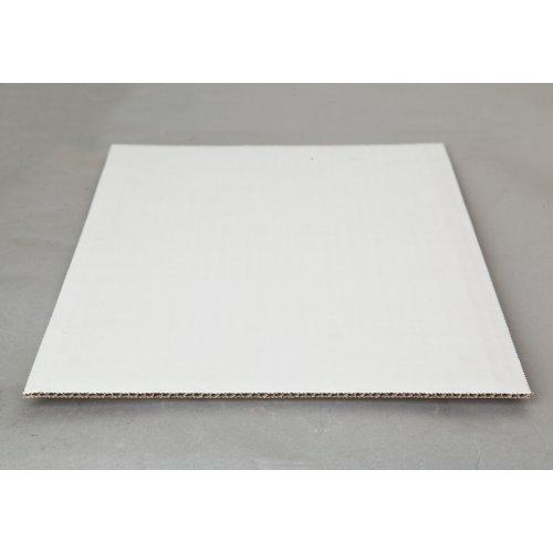 Single Wall White Cake Pads - 1/2 sheet