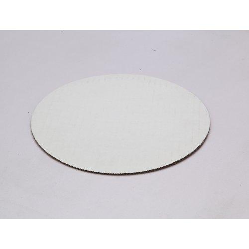 "C-Flute White Cake Circles - 7"""