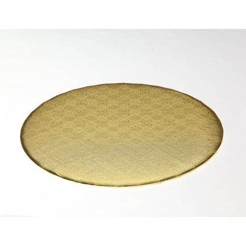 """D/W Gold Circle Wrap Arounds  - 14"""""""