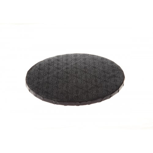 """Black Round Drums B/C-Flute - 6"""""""