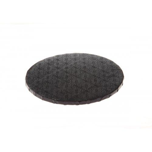 """Black Round Drums B/C-Flute - 18"""""""