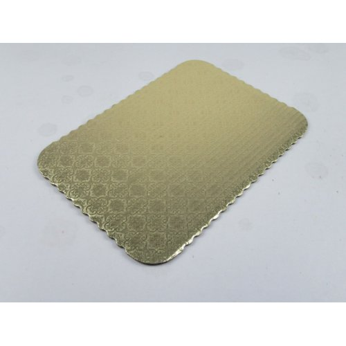 C-Flute Gold Scalloped Pads