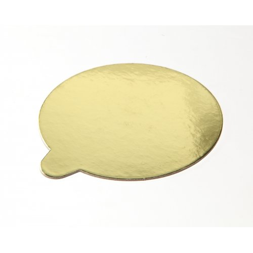 Oval Gold/Silver Pads w/tab - 2.5x3 3/4
