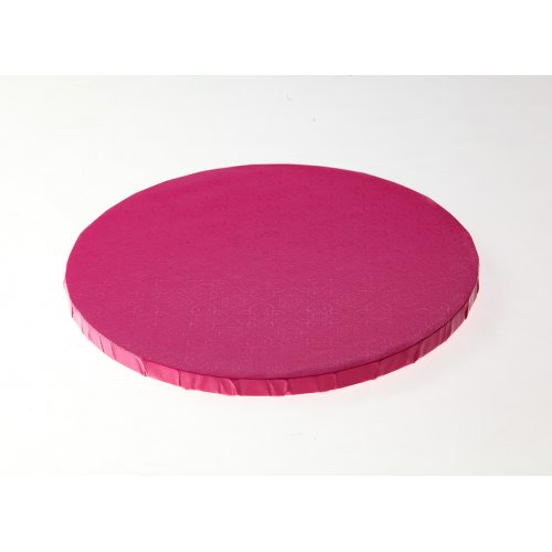 """Pink Round Drums B/C-Flute - 14"""""""