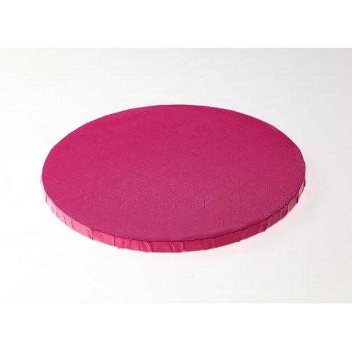 """Pink Round Drums B/C-Flute - 18"""""""