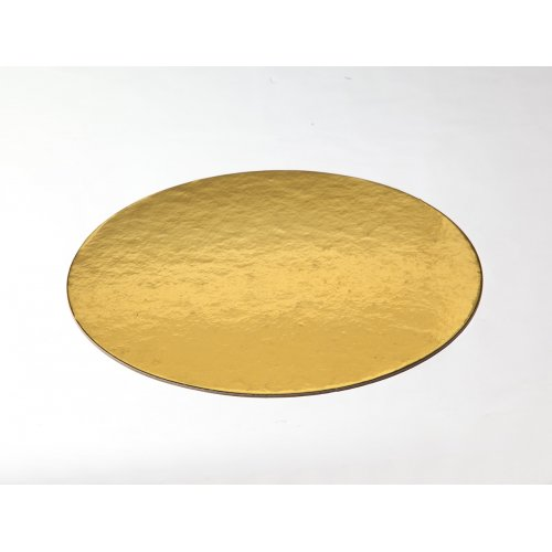 Gold Die Cut Cake Circles - 7""