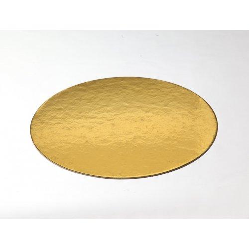 Gold Die Cut Cake Circles
