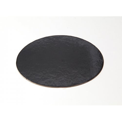 Black Die Cut Cake Circles