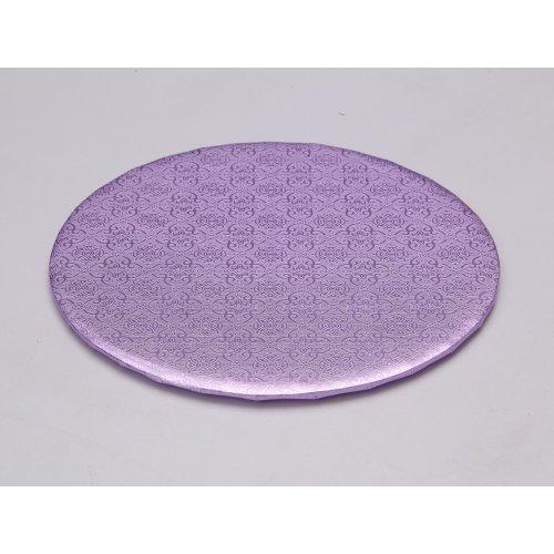 """D/W Lilac Circle Wrap Arounds - 12"""""""