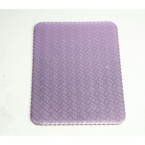 D/W Lilac Scalloped Cake Pads