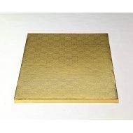 """Gold Square Drums B/C-Flute  - 6"""""""