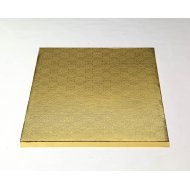 """Gold Square Drums B/C-Flute  - 10"""""""