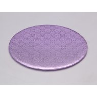 D/W Lilac Circle Wrap Arounds - 8""