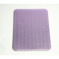 D/W Lilac Scalloped Cake Pads - 1/2 sheet