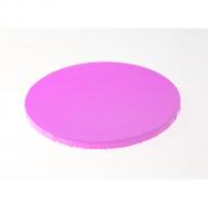 "Light Pink Round Drums B/C-Flute - 18"""